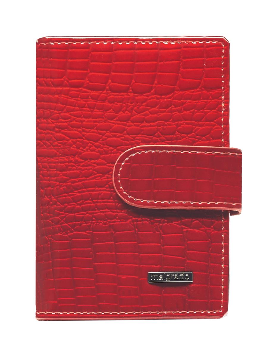 Визитница Malgrado, цвет: красный. 42003-44 malgrado 42003 1n 38402 red malgrado