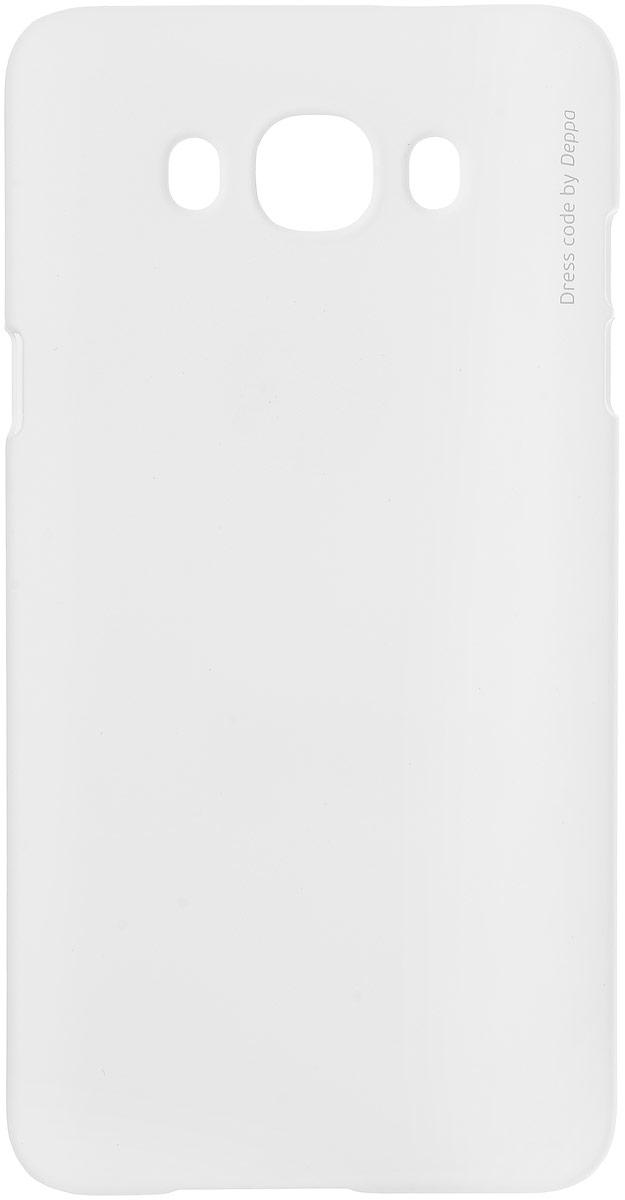 Deppa Air Case чехол для Samsung Galaxy J7 (2016), White83254Чехол Deppa Air Case для Samsung Galaxy J7 (2016) случай редкого сочетания яркости и чувства меры. Это стильная и элегантная деталь вашего образа, которая всегда обращает на себя внимание среди множества вещей. Благодаря покрытию soft touch чехол невероятно приятен на ощупь, поэтому смартфон не хочется выпускать из рук. Ультратонкий чехол (1 мм) повторяет контуры самого девайса, при этом готов принимать на себя удары - последствия непрерывного ритма городской жизни.Чехлы Deppa Air Case изготавливаются из высококачественного поликарбоната (PC) производства Вауеr, устойчивого к сколам, ударам и царапинам. Прочная поверхность чехла с покрытием soft touch обладает противоскользящим эффектом. Все функциональные отверстия чехла идеально подогнаны по размерам и местоположению, обеспечивая полный доступ к внешним портам, слотам и разъемам гаджета.