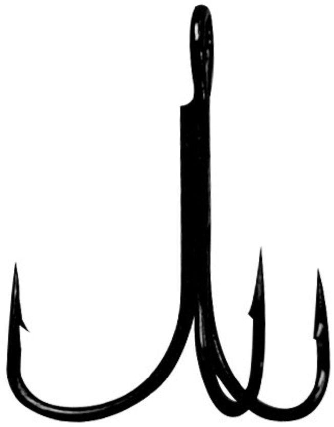Крючок Тройник Gamakatsu Treble 17, №12, 10 шт14667201200