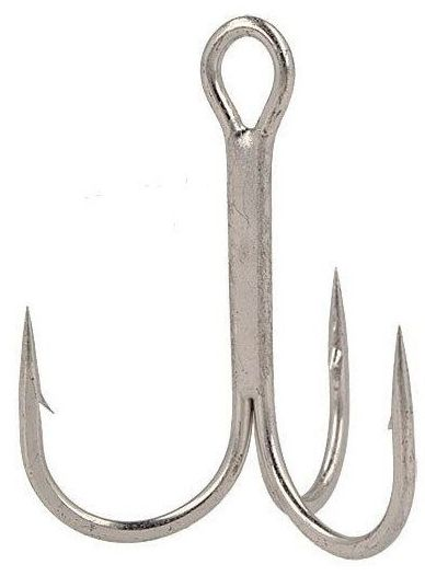 Крючок Тройник Gamakatsu Treble 13B, № 1, 10шт крючок gamakatsu bks 3510f carp 60см 2 d поводка 030 10шт