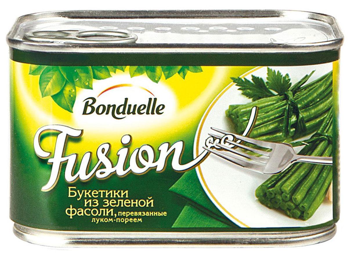 Bonduelle букетики из зеленой фасоли, перевязанные луком-пореем, 400 г bonduelle кукуруза сладкая 340 г