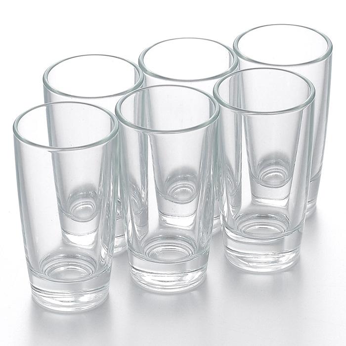 Набор стопок Luminarc Monaco, 50 мл, 6 штH5125Набор Luminarc Monaco состоит из шести стопок, выполненных из высококачественного стекла. Стопки предназначены для подачи крепких алкогольных напитков. Они сочетают в себе элегантный дизайн и функциональность. Благодаря такому набору пить напитки будет еще приятнее.Набор стопок Luminarc Monaco идеально подойдет для сервировки стола и станет отличным подарком к любому празднику. Стопки можно мыть в посудомоечной машине.Диаметр стопки по верхнему краю: 4 см.Высота стопки: 8 см.Диаметр основания стопки: 3 см.