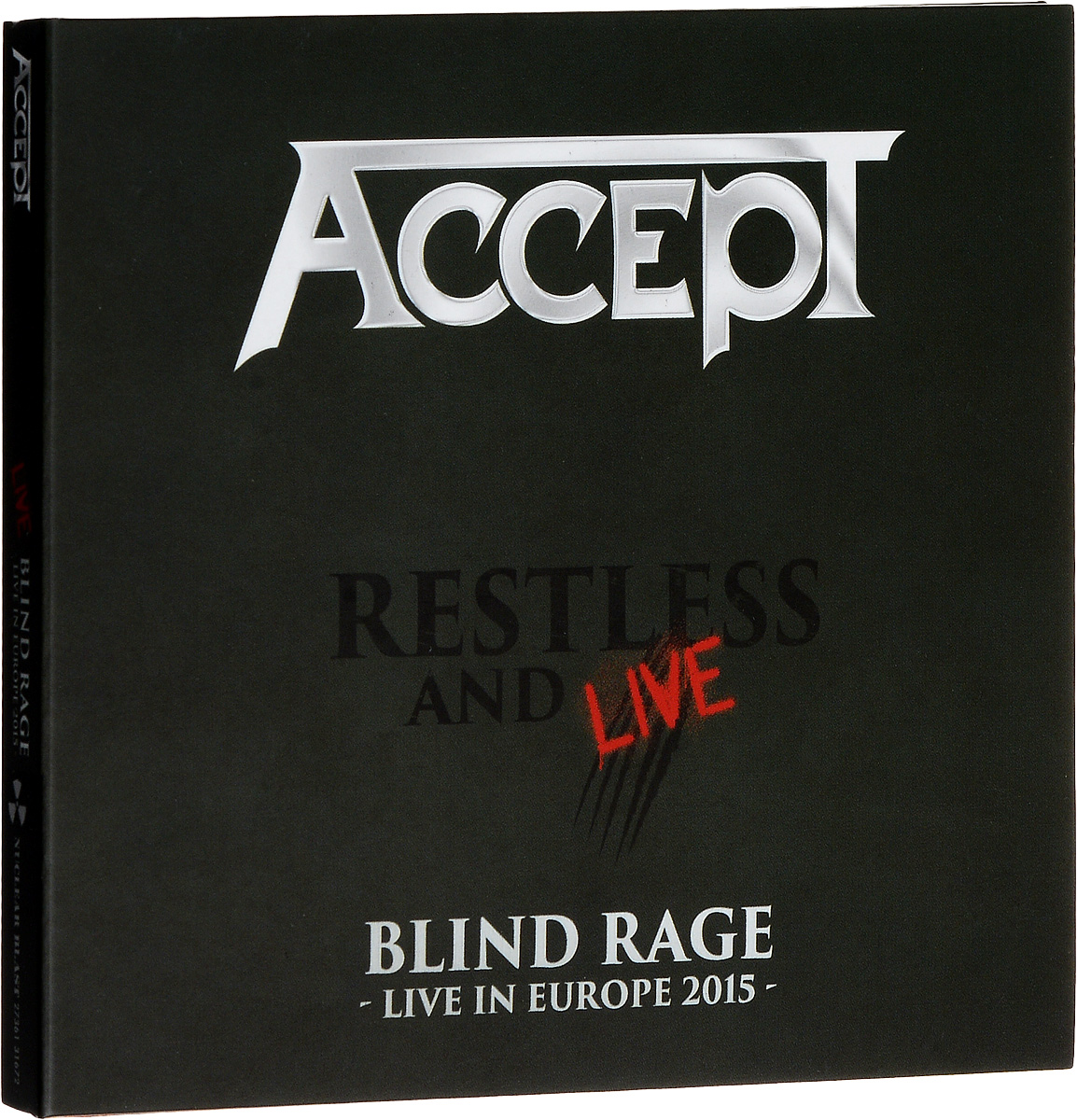 Accept Accept. Restless And Live (2 CD) accept belo horizonte