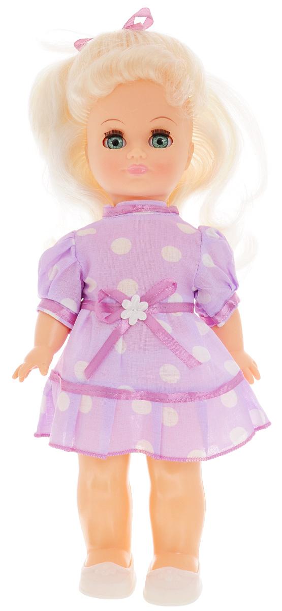 Весна Кукла озвученная Наталья цвет одежды фиолетовый белый весна весна кукла наталья 7 озвученная 35 см