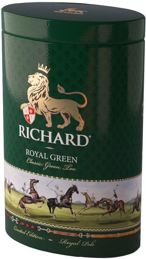 Richard Royal Green Polo зеленый крупнолистовой чай, 80 г610652Это не просто самый качественный английский чай. Это превосходные классические купажи с необыкновенными изысканными оттенками во вкусе и аромате.