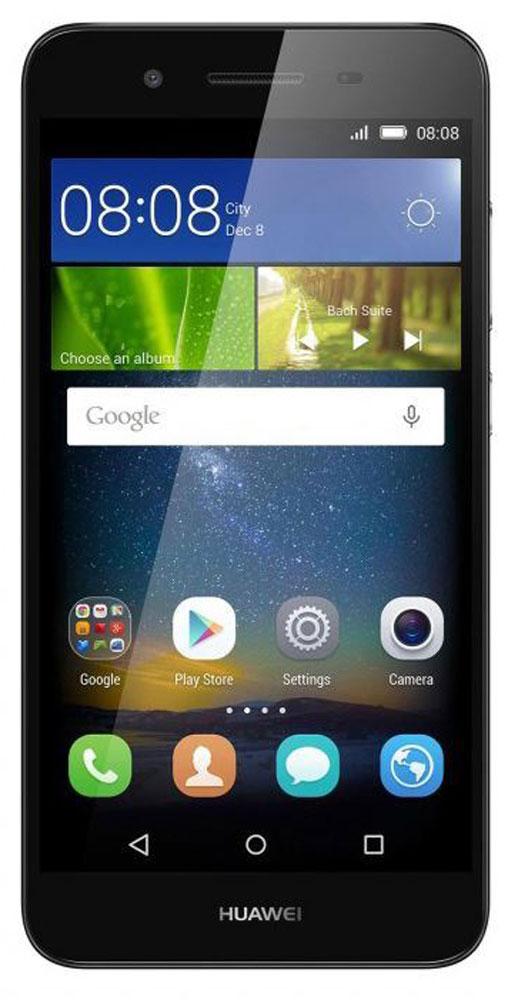 Huawei GR3 LTE (TAG-L21), Grey51090EGJHuawei GR3 - стильный и недорогой смартфон с широкими возможностями.Восьмиядерный процессор MediaTek MT6753T с частотой 1.5 ГГц позволяет использовать все современные мобильные приложения.Коммуникационные возможности представлены Bluetooth 4.0, Wi-Fi 802.11 b/g/n при помощи которых можно воспользоваться беспроводной гарнитурой или подключиться к интернету. Также Huawei GR3 не даст вам заблудится в городе и всегда укажет дорогу благодаря функции GPS. Модель оборудована стандартными разъемами - 3.5 мм для подключения наушников и microUSB - для зарядки и присоединения к USB-порту компьютера.Huawei GR3 также обладает функциональным мультимедиа-плеером, способным воспроизводить аудио и видео-файлы самых популярных форматов. Девайс обладает двумя слотами для SIM-карт, слотом для карт памяти microSD (до 128 ГБ).Смартфон оснащен двумя камерами: основной на 13 мегапикселей и фронтальной на 5 мегапикселей. Основная камера отлично справляется со съемкой в слабо освещенных местах, а фронтальная идеально подойдет для видеозвонков и селфи.Телефон сертифицирован EAC и имеет русифицированный интерфейс меню, а также Руководство пользователя.