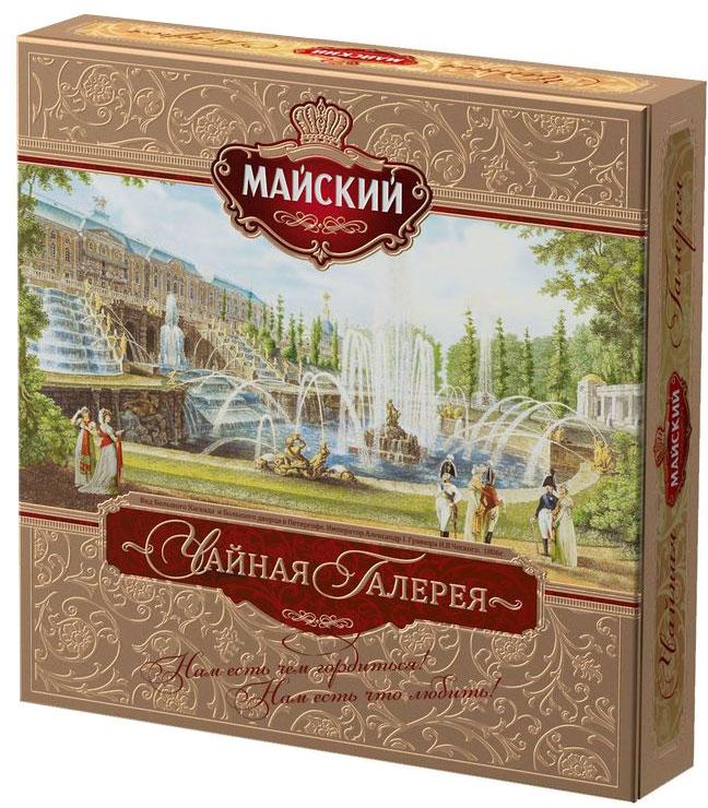 Майский Чайная Галерея ассорти чай в пакетиках, 20 шт