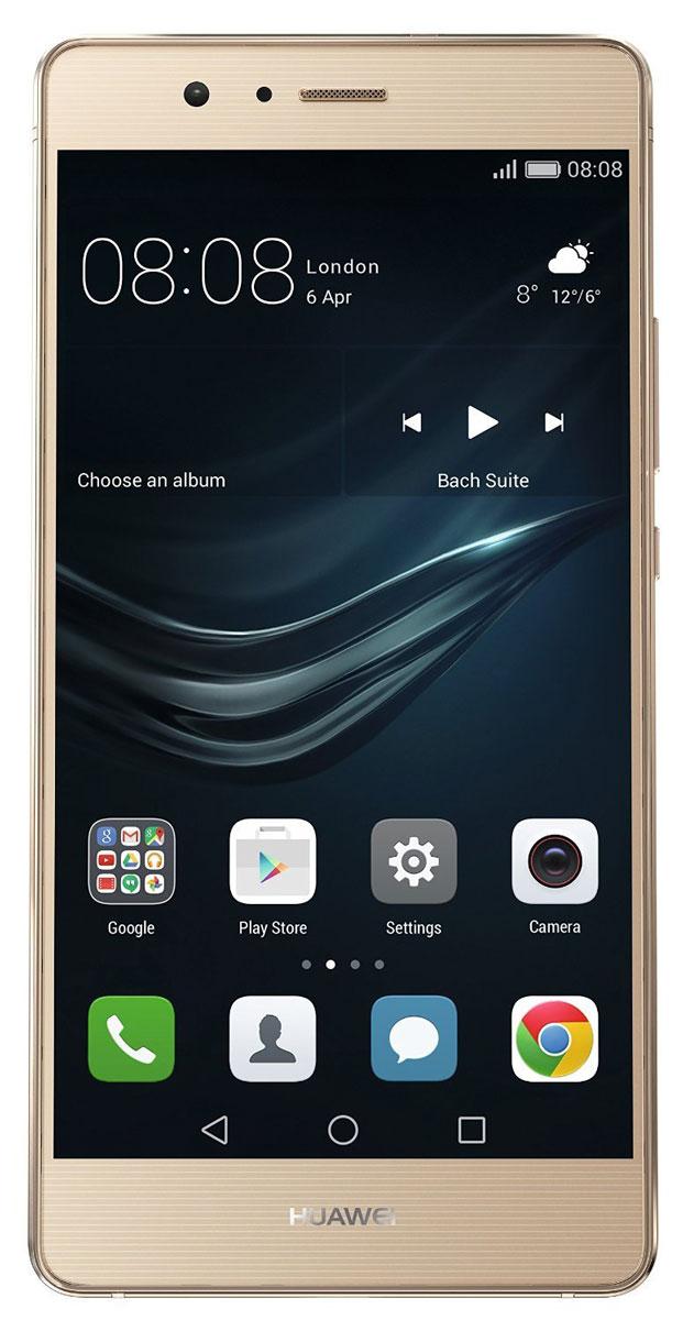 Huawei P9 Lite (VNS-L21), Gold смартфон huawei p9 lite 16gb gold