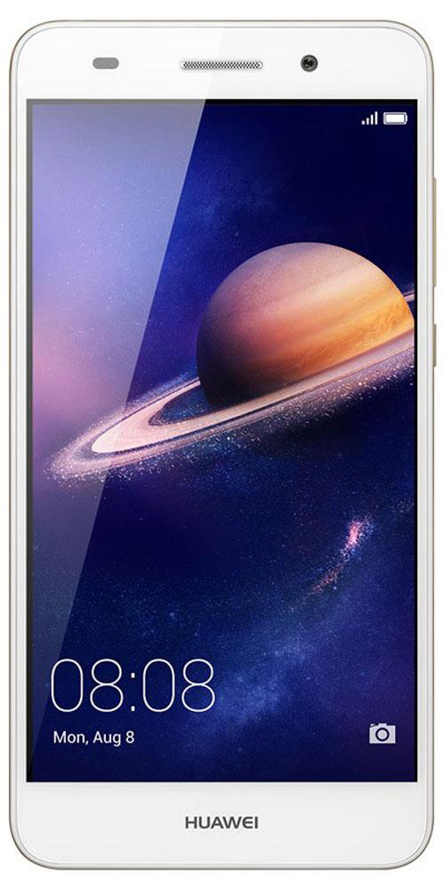Huawei Y6 II LTE (CAM-L21), White51090RGCНевероятно яркий экран смартфона Huawei Y6 II с динамическим разрешением 1280x720 позволит вам не упустить ни одной самой мелкой детали, обеспечивая кристально чистые изображения. Покрытие экрана GFF защищает его от царапин и выцветания.Невероятно мощная основная широкоугольная камера 13 МП с линзой 28 мм и диафрагмой F2.0, объектив которой сделан из суперпрочного стекла с защитой от царапин. Камера позволяет делать снимки великолепного качества даже в условиях очень плохого освещения.Селфи никогда не были столь похожи на профессиональные фото! Фронтальная камера 8 МП с диафрагмой F2.0 и углом обзора 77 градусов позволяет делать великолепные панорамные селфи. Открой для себя новый мир!Huawei Y6 II поддерживает 10 степеней режима Украшения, который оптимизирует портретные снимки в режиме реального времени, распознавая лица на фотографиях за 10 миллисекунд. 8 параметров режима украшения и возможность персональной настройки помогут всегда выглядеть на фото великолепно, а режим Макияж позволит нанести макияж, например, тени или румяна, на уже готовом фото. Вы прекрасны!Корпус Huawei Y6 II привлечёт внимание каждого. Приятная текстура и оригинальные цвета корпуса - это сочетание эргономичности и стиля. Почувствуй себя звездой, к которой прикованы взгляды!Оптимальный размер экрана Huawei Y6 II - 5,5 дюймов - и закруглённые края корпуса обеспечивают удобство использования и управления смартфоном одной рукой, сочетая преимущества большого экрана и компактного корпуса.Huawei Y6 II оснащён 8-ядерным 64-битным процессором Kirin 620 1,2 ГГц, который позволяет одновременно использовать несколько приложений без задержек и снижения производительности. Архитектура ARM поддерживает технологию умного энергопотребления, продлевая время работы телефона без подзарядки. 2 ГБ RAM, 16 ГБ ROM и поддержка карты памяти microSD (до128 ГБ) обеспечивают высочайшую скорость работы смартфона.ОС Android 6.0 и интерфейс EMUI4.1 - новое ПО, обеспечивающее неве