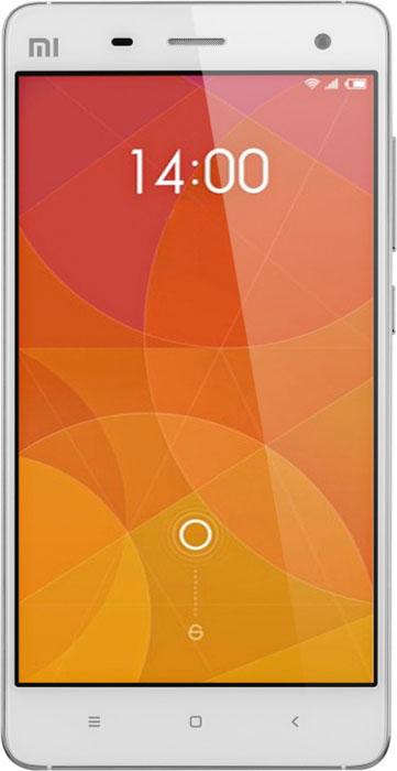 Xiaomi Mi 4 (16GB), White (MI416GBW)MI416GBWМеталлический корпус Xiaomi Mi4 выполнен из нержавеющей стали. Смартфон получил ультратонкий 5-дюймовый экран с разрешением 1920x1080 пикселей Sharp, который характеризуется очень широкой цветовой гаммой на 16 млн цветов (84% от диапазона NTSC), что позволяет в полной мере насладиться всем разнообразием насыщенной цветовой палитры во время просмотра ваших любимых фильмов или изображений.Высокопроизводительный процессор содержит четыре ядра Krait 400 работающих на частоте 2,5 ГГц. Он блестяще справляется с несколькими сложными задачами. Большая скорость обработки изображения, лучшая производительность в играх и тяжелых приложениях, при этом процессор, благодаря ядру Hexagon DSP, отвечающему за простые задачи, стал еще более экономичным. Графика Adreno 330 благодаря поддержке таких теологий как OpenGL ES 3.0, OpenCL, Renderscript Compute и FlexRender справится дажес самыми сложными играми.Емкостный сенсорный 5-дюймовый экран типа IPS LCD характеризуется разрешением в 1080 x 1920 пикселей с плотностью пикселей 441 ppi. Насыщенные цвета, широкий угол обзора, повышенная яркость и необычайная резкость изображения подарят незабываемые впечатления от просмотра мультимедийной информации.Смартфон получил 13-мегапиксельную основную камеру с автофокусом и двойной LED-вспышкой, которая позволяет делать качественные изображения не только в светлое время суток, но и в условиях плохого освещения. Разрешение изображений достигает 4128 x 3096 пикселей. На борту также присутствует 8 Мпикс фронтальная камера, которая позволяет делать качественные автопортреты, а также общаться с друзьями по Skype. Смартфон поддерживает функцию HDR видео с разрешением 1080p. Среди дополнительных особенностей камеры гео-тэги, сенсорная фокусировка, а также обнаружение лиц.Xiaomi Mi4 выгодно совмещает в себе мощное железо и ультратонкий корпус. Благодаря технологии 9-слойного слияния мембран толщина панели составляет всего 66% от среднестатистической толщины дев