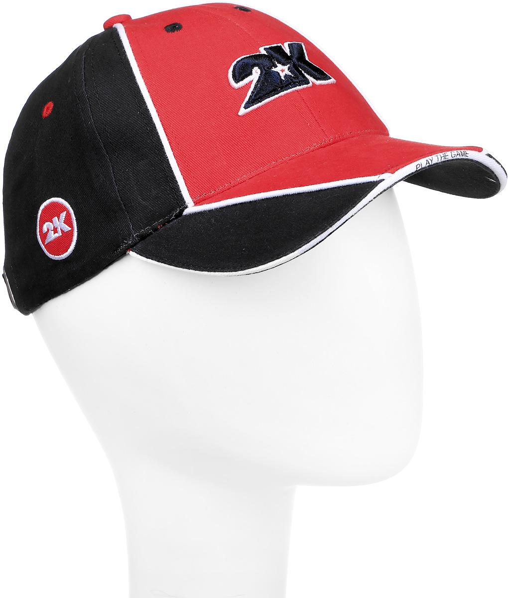 Бейсболка 2K Sport Dimaro, цвет: черный, красный, белый. 124223. Размер 58/60124223_black/red/whiteБейсболка 2K Sport Dimaro выполнена из натурального хлопка и имеет классическую панельную конструкцию. Модель с плотным козырьком оформлена объемными фирменными вышивками. Бейсболка имеет небольшие отверстия, обеспечивающие дополнительную вентиляцию. Объем бейсболки регулируется при помощи хлястика с металлической застежкой-фиксатором, оформленной гравировкой.