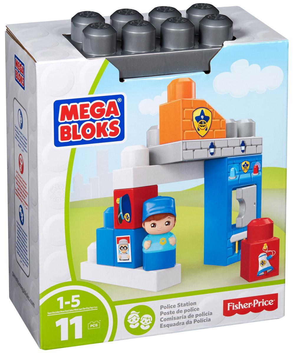 Mega Bloks Storytelling Конструктор Полицейский участок, Mega Bloks/Mega Construx