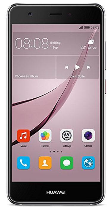 Huawei Nova LTE (CAN-L11), Grey51090XKXHuawei Nova - сочетание элегантности и современных решений. Утончённый и минималистичный дизайн.Создавая Huawei Nova, дизайнеры черпали вдохновение в природе и современной архитектуре, в тонких линиях и контурах, в игре света и тени. Изогнутые грани Huawei Nova дарят ощущение плавности и комфорта. Компактность корпуса достигается за счёт эргономичного расположения внутренних элементов.Задняя панель корпуса Huawei Nova выполнена из аэрокосмического магниево-алюминиевого сплава. Использование технологии пескоструйной обработки позволило создать приятную на ощупь текстурированную поверхность и придать корпусу глянцевый вид. Верхняя часть задней панели выполнена из контрастного глянцевого пластика. Закруглённые края и экран с технологией 2.5D позволяют смартфону идеально располагаться в руке.Основная 12 МП камера смартфона Huawei nova с размером пикселя 1,25 мкм, широкой диафрагмой F2.2 и специальным покрытием объектива, позволяет получить максимально чёткие и яркие снимки.В камере смартфона Huawei Nova используется уникальная комбинация двух технологий автофокусировки: фазовая (PDAF) и контрастная (CAF). Фазовый автофокус используется для быстрой фокусировки, в то время как контрастный сравнивает чёткость двух разных изображений, обеспечивая более высокую степень детализации. Сочетая два режима фокусировки, Huawei Nova позволяет делать высококачественные снимки практически мгновенно.Камера смартфона Huawei Nova позволяет снимать яркие видео в ультравысоком разрешении, фиксируя все мельчайшие детали. Даже при просмотре на большом экране, ваши видео будут выглядеть бесподобно.Ваши селфи станут идеальными благодаря фронтальной камере 8 МП и технологиям Beauty Skin 3.0 и Beauty Make-up 2.0.Сканер отпечатка пальца на задней панели позволяет делать селфи одним касанием.Новые функции режима украшения стали результатом сотрудничества Huawei с мировыми экспертами в области макияжа. Специально подобранные румяна и помада подчеркнут черты ли