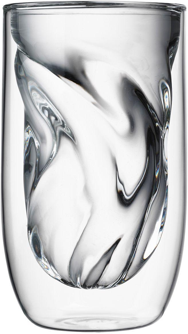 Набор стаканов QDO Elements Earth, 350 мл, 2 шт567299Набор Elements - это оригинальные стаканы с двойными стенками и оригинальным дизайном, изображающим главные элементы природы. Выполнен из боросиликатного стекла, устойчивого к перепадам температур. Каждый стакан состоит из двух форм: классическая внешняя позволит держать емкость с горячим содержимым в руке без риска обжечься, а модифицированная внутренняя придаст вашим напиткам необычный вид. Стаканы станут идеальным украшением барной стойки, вечеринки или просто домашней коллекции. Объем - 350 мл. Можно мыть в посудомоечной машине.
