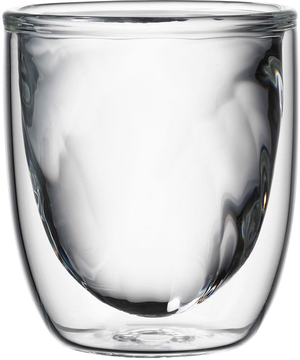 Набор стаканов QDO Elements Fire, 75 мл, 2 шт567322Набор Elements - это оригинальные стаканы с двойными стенками и оригинальным дизайном, изображающим главные элементы природы. Выполнен из боросиликатного стекла, устойчивого к перепадам температур. Каждый стакан состоит из двух форм: классическая внешняя позволит держать емкость с горячим содержимым в руке без риска обжечься, а модифицированная внутренняя придаст вашим напиткам необычный вид. Стаканы станут идеальным украшением барной стойки, вечеринки или просто домашней коллекции. Объем - 75 мл. Можно мыть в посудомоечной машине.