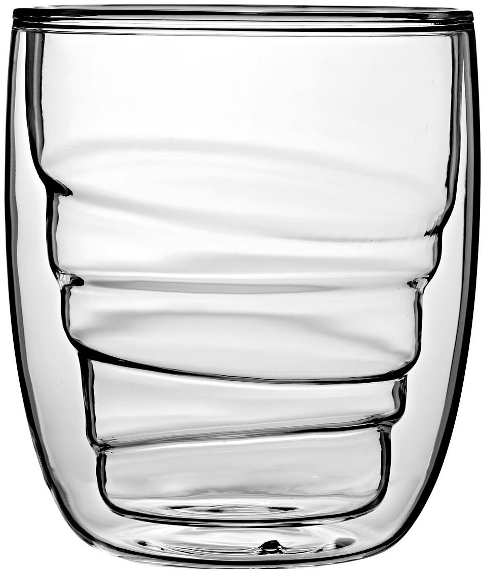 Набор стаканов QDO Elements Wood, 210 мл, 2 шт567493Набор Elements - это оригинальные стаканы с двойными стенками и оригинальным дизайном, изображающим главные элементы природы. Выполнен из боросиликатного стекла, устойчивого к перепадам температур. Каждый стакан состоит из двух форм: классическая внешняя позволит держать емкость с горячим содержимым в руке без риска обжечься, а модифицированная внутренняя придаст вашим напиткам необычный вид. Стаканы станут идеальным украшением барной стойки, вечеринки или просто домашней коллекции. Объем - 210 мл. Можно мыть в посудомоечной машине.