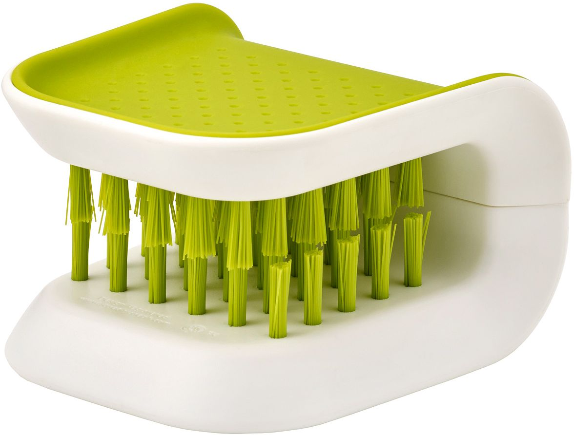 Щетка для столовых приборов и ножей Joseph Joseph Blade Brush, цвет: зеленый