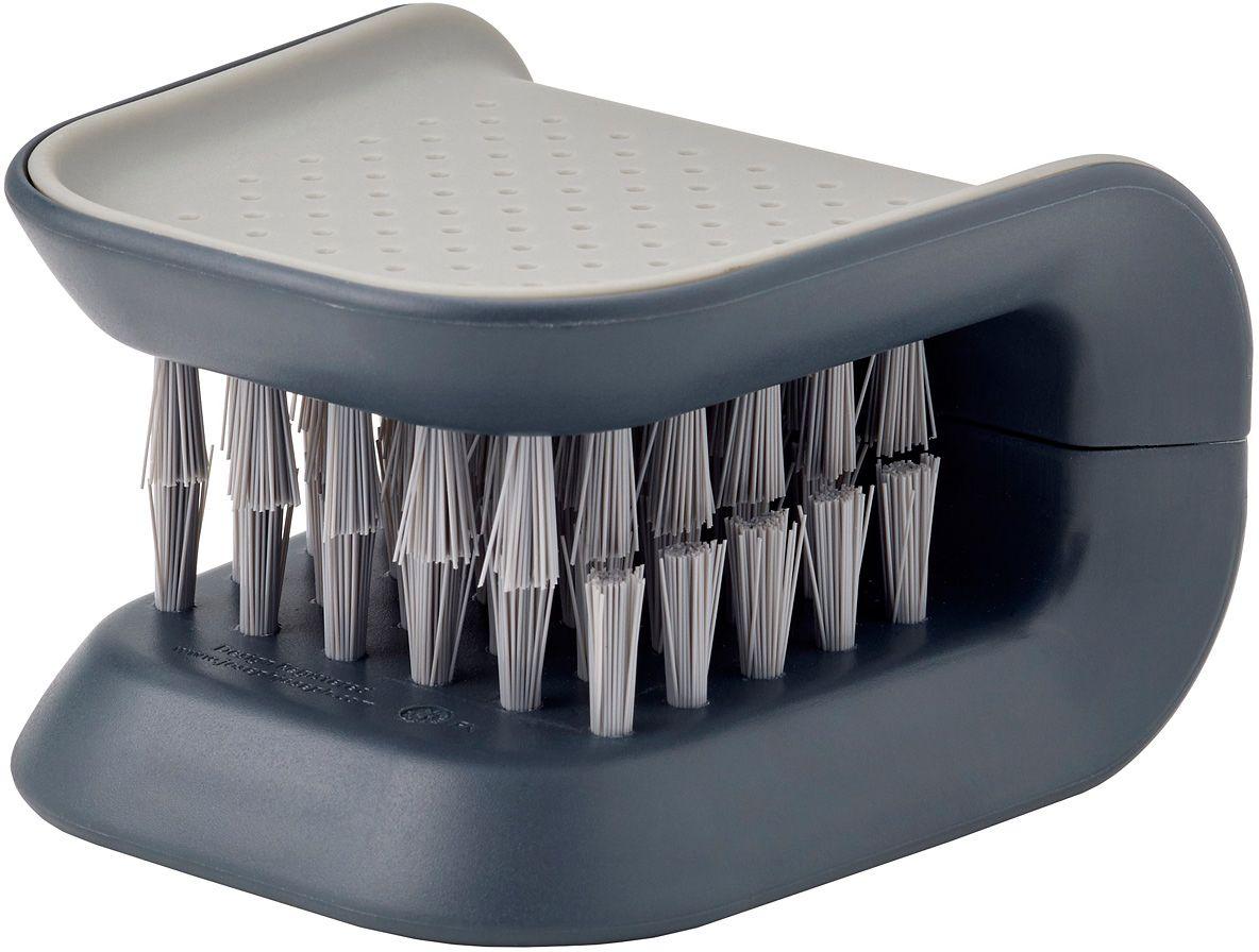Щетка для столовых приборов и ножей Joseph Joseph Blade Brush, цвет: серый набор столовых ножей dalper президент 3 предмета