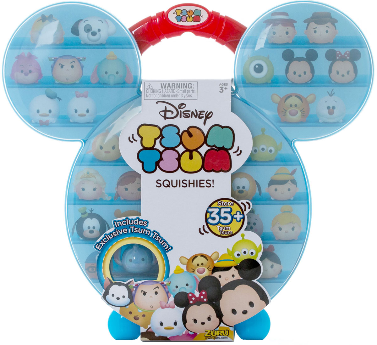 Tsum Tsum Кейс для коллекционирования фигурок new in box tsum tsum stack n play toy shop original
