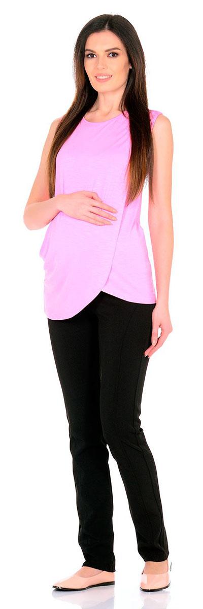 Блузка для беременных и кормящих Nuova Vita, цвет: розовый. 1322.06 N.V.. Размер 501322.06 N.V.Удобная, мягкая, элегантная блузка для беременных и кормящих Nuova Vita выполнена из высококачественного комбинированного материала. Очаровательная блузка станет стильным дополнением вашего образа.