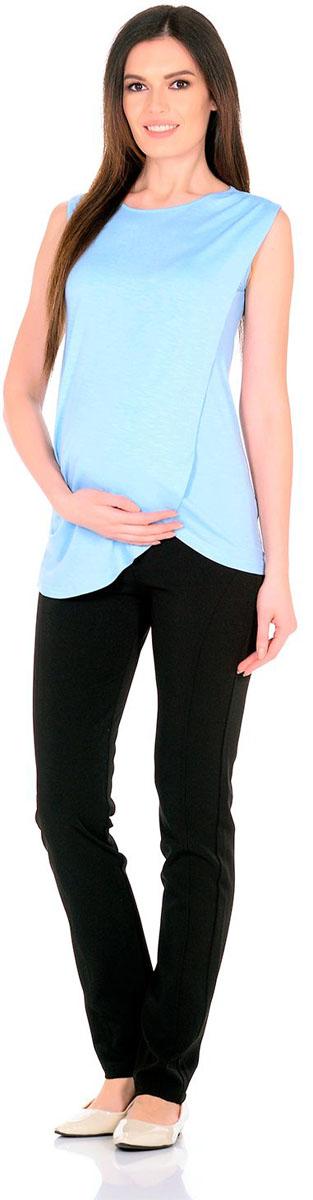 Блузка для беременных и кормящих Nuova Vita, цвет: голубой. 1322.08 N.V.. Размер 461322.08 N.V.Удобная, мягкая, элегантная блузка для беременных и кормящих Nuova Vita выполнена из высококачественного комбинированного материала. Очаровательная блузка станет стильным дополнением вашего образа.
