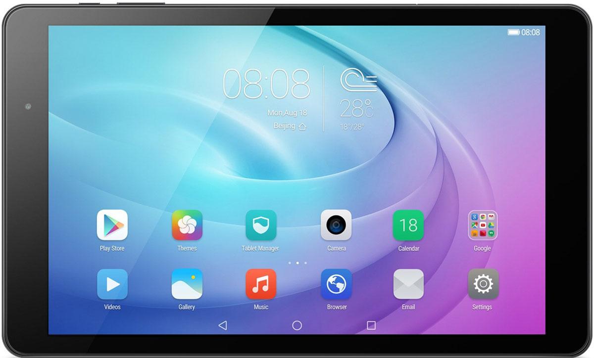 Huawei MediaPad T2 Pro 10 LTE (16GB), Black5301651610.1-дюймовый Full HD экран планшета Huawei MediaPad T2 10.0 Pro – это яркое и четкое изображение во время просмотра видео, игр и повседневных задач. Режим ухода за глазами подстраивается под внешнее освещение и не дает глазам устать.Планшет MediaPad T2 10.0 Pro предоставляет высокую скорость и производительность при выполнении задач любой сложности. 64-битный 8-ядерный чипсет Qualcomm Snapdragon, 4G-LTE интернет (до 150 Мбит/с) и Wi-Fi (до 433 Мбит/с) создают быстрое и стабильное соединение, позволяя пользователям дольше оставаться на связи.Два динамика с запатентованной акустической системой Huawei - SWS 2.0, предлагают насладиться кристально-чистым звуком при прослушивании любимой музыкойАккумулятор планшета Huawei MediaPad T2 10.0 Pro имеет емкость 6660 мАч, предоставляя пользователям до 700 часов работы в режиме ожидания. Вы можете не беспокоиться о заряде батареи во время веб-серфинга, просмотра видео и прослушивании музыки.Простой и элегантный планшет воплощает эстетику бренда Huawei. Технология Split View предоставляет функцию просмотра двух приложений или двух окон одного приложения одновременно.Планшет сертифицирован EAC и имеет русифицированный интерфейс, меню и Руководство пользователя.