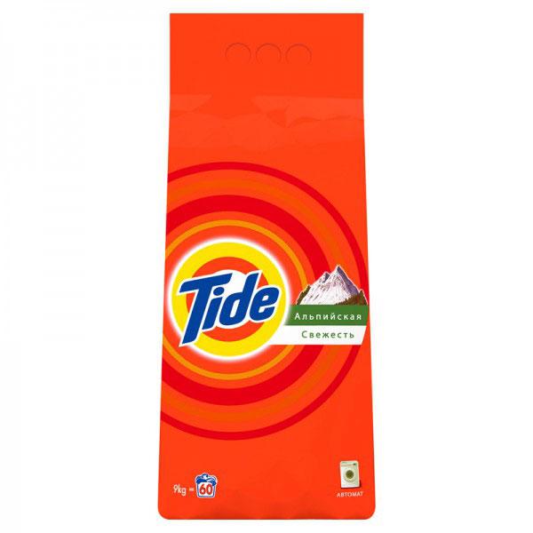 Стиральный порошок Tide Альпийская свежесть, автомат, 9 кг vestel стиральный порошок 3 кг