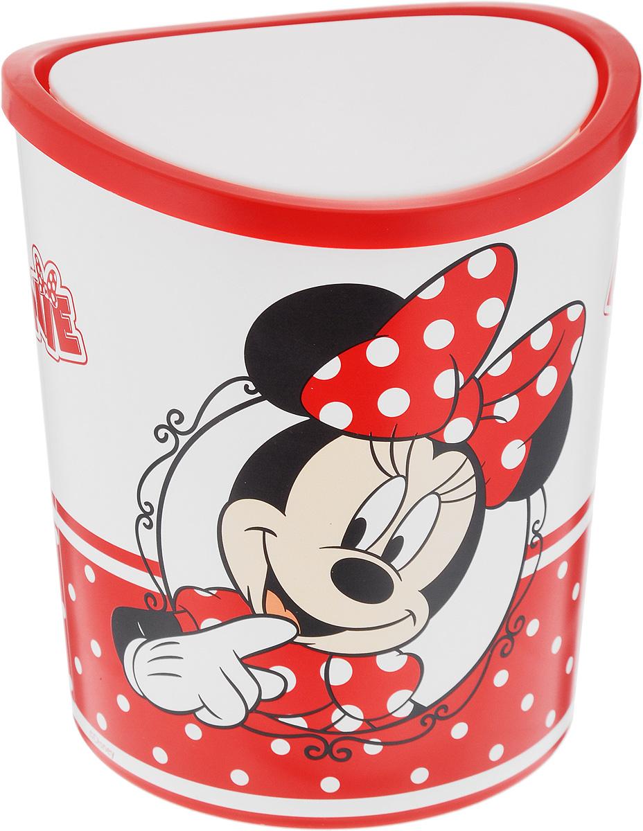 Контейнер для мусора Idea Disney. Минни Маус, настольный, 1,6 лМ 2491-ДКонтейнер для мусора Idea Disney. Минни Маус изготовлен из прочного пластика. Такой аксессуар очень удобен в использовании. Контейнер снабжен удобной поворачивающейся крышкой, которая при необходимости легко снимается. Стильный дизайн сделает его прекрасным украшением интерьера детской комнаты.