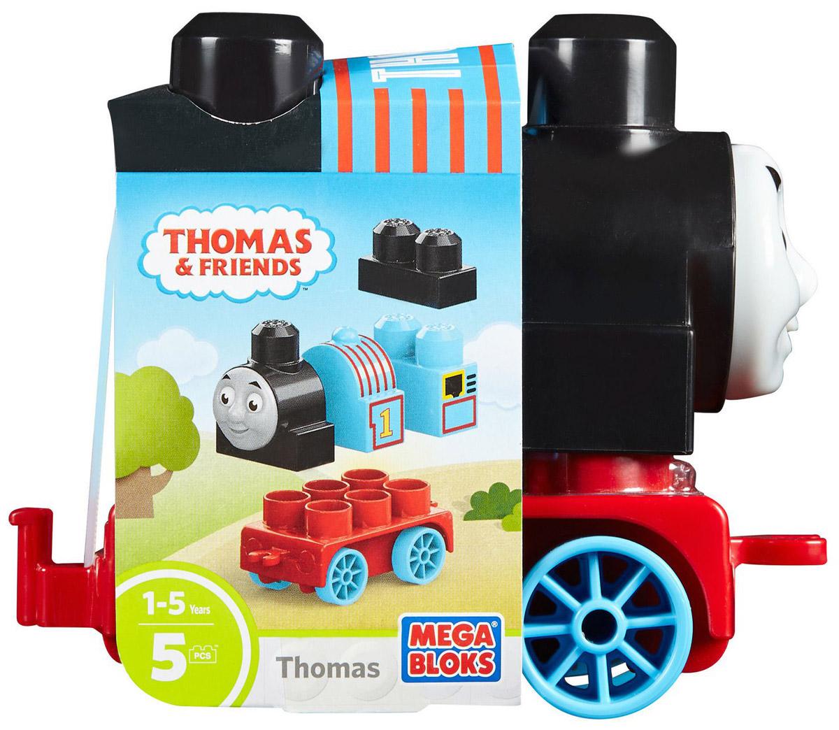 Mega Bloks Thomas & Friends Конструктор Паровозик Томас конструкторы mega bloks томас и друзья томас и гарольд