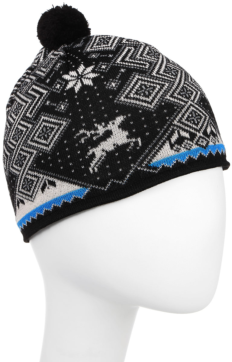 Шапка Kama Cross-Country Beanies, цвет: черный. A58_110. Размер 58/60 шапка harrison theodore short beanies green