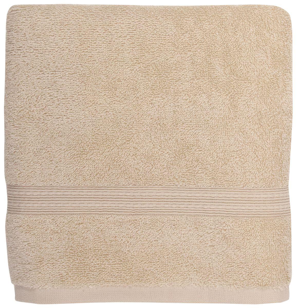 Полотенце банное Bonita Classic, цвет: бисквит, 70 х 140 см1011217224Банное полотенце Bonita Classic выполнено из 100% хлопка. Изделие отлично впитывает влагу, быстро сохнет, сохраняет яркость цвета и не теряет форму даже после многократных стирок. Такое полотенце очень практично и неприхотливо в уходе. Оно создаст прекрасное настроение и украсит интерьер в ванной комнате.