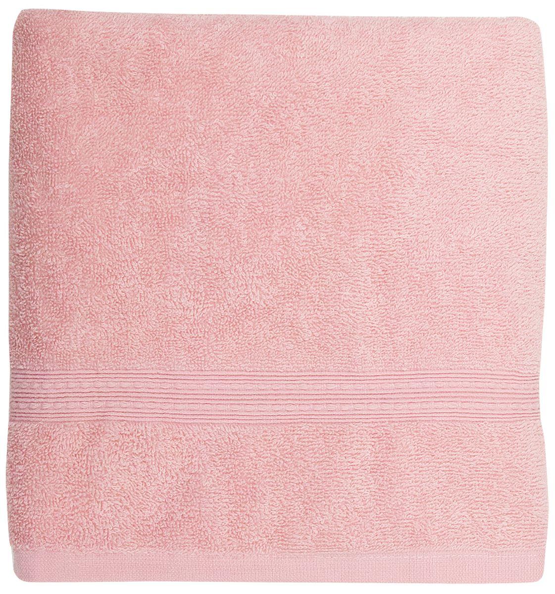 """Банное полотенце Bonita """"Classic"""" выполнено из махровой ткани. Изделие отлично впитывает влагу, быстро сохнет, сохраняет яркость цвета и не теряет форму даже после многократных стирок.  Такое полотенце очень практично и неприхотливо в уходе. Оно создаст прекрасное настроение и украсит интерьер в ванной комнате."""