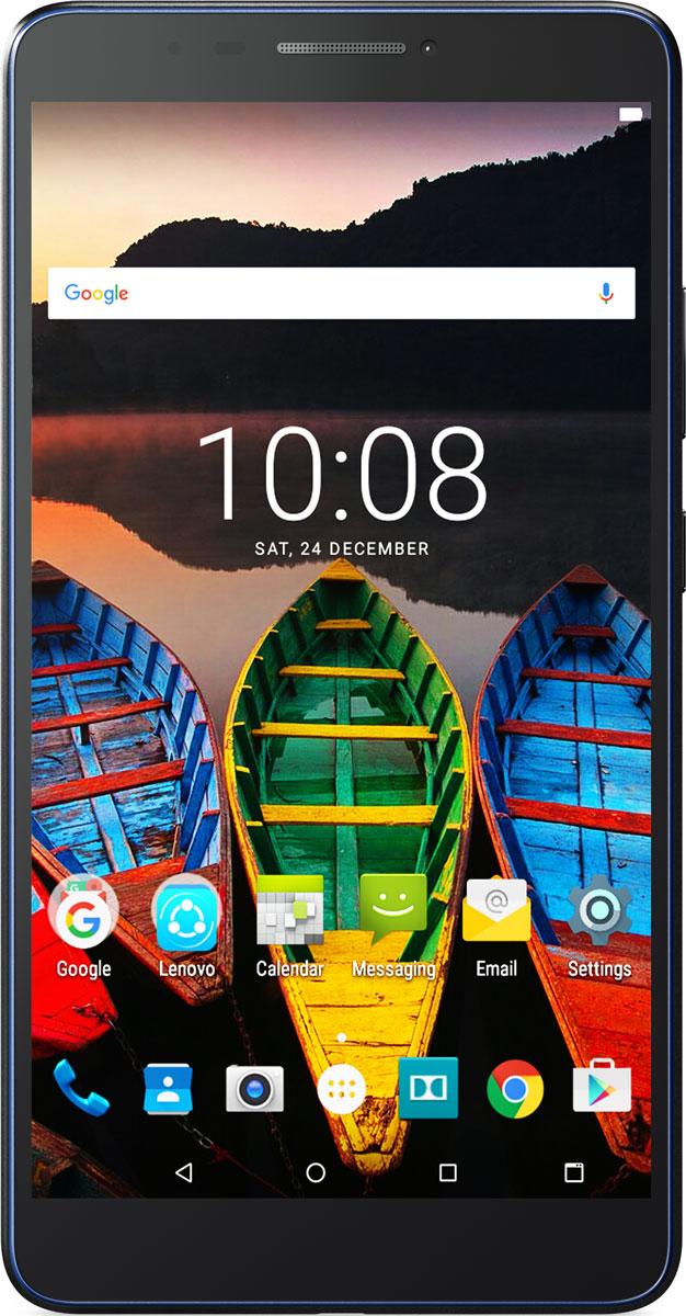 Lenovo Tab 3 Plus (TB-7703X), Black (ZA1K0070RU)ZA1K0070RUПланшет Lenovo Tab 3 Plus идеально подходит для тех, кому требуется компактное и мобильное устройство с полным набором функций для всей семьи. Этот яркий 7-дюймовый планшет с защитой от брызг создан для игр и просмотра видео, а также позволяет сохранять настройки для каждого из пользователей и обеспечить безопасный режим для детей.Планшет подходит для всей семьи - и даже для детей, и при этом каждый может настроить его под себя. Благодаря многопользовательскому режиму Lenovo Tab 3 Plus позволяет сохранить настройки каждого из пользователей. Кроме того, в нем предусмотрен специальный детский режим для безопасного веб-серфинга и инструменты ограничения доступа, благодаря чему у родителей станет одной заботой меньше.Дисплей с адаптивной технологией отображения исключает усталость глаз. Устройство Lenovo Tab 3 Plus оптимизирует параметры освещения и контрастности в зависимости от задач, будь то чтение или просмотр видео. Кроме этого, в нем предусмотрен безопасный режим, в котором значительно снижено свечение синего цвета. Этот режим разработан специально для людей с чувствительными глазами и маленьких детей.Узкая рамка создает привлекательный внешний вид и вместе с тем обеспечивает комфорт во время использования. Кроме того, цвет корпуса можно выбрать по своему вкусу.С помощью основной 5-мегапиксельной камеры на планшете Lenovo Tab 3 Plus ты можешь делать безупречные снимки, а фронтальная 2-мегапиксельная камера идеально подходит для селфи. Делай снимки и отправляй их друзьям и близким в любое время.Планшет сертифицирован EAC и имеет русифицированный интерфейс, меню и Руководство пользователя.