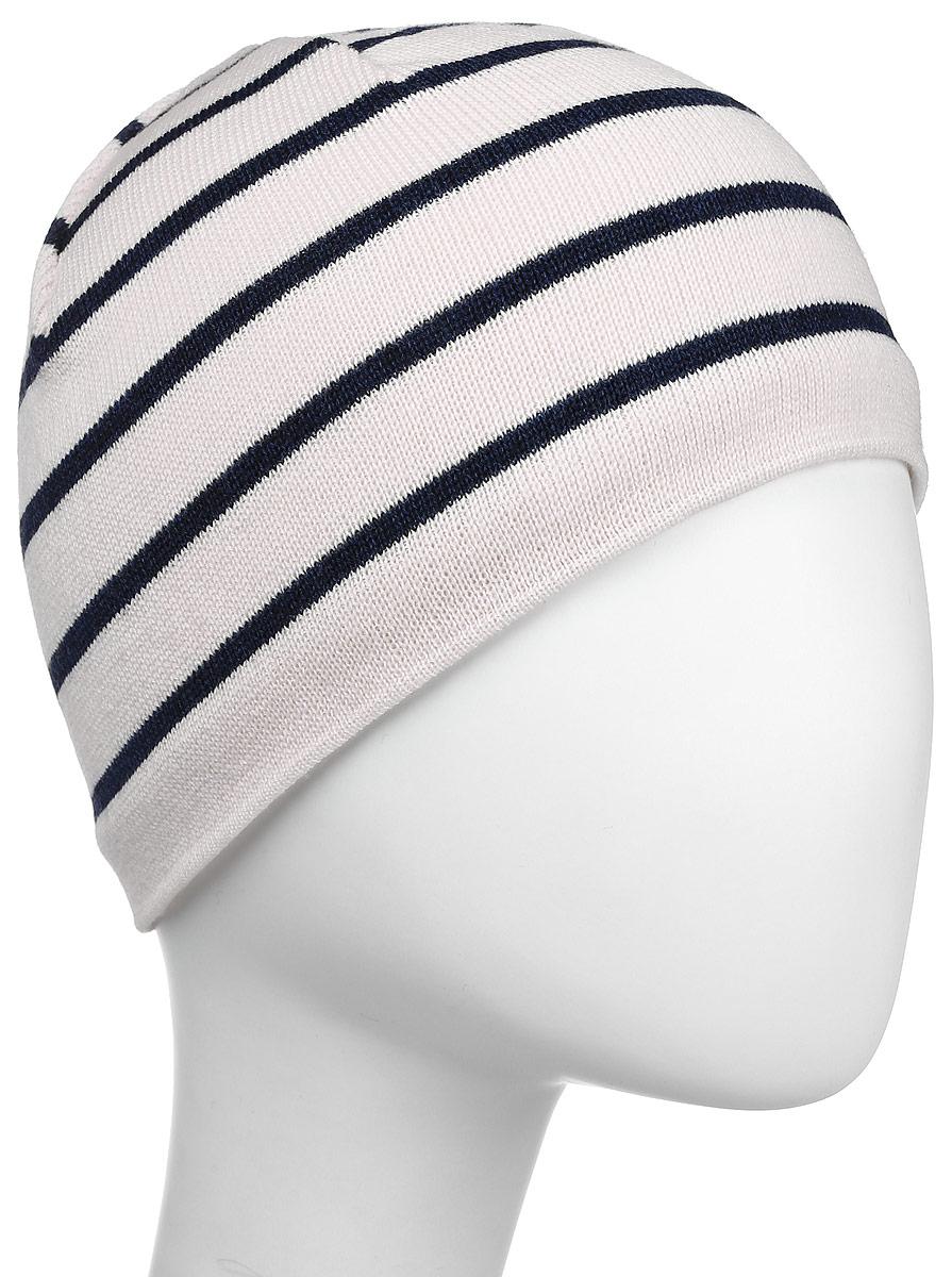 Шапка Kama Urban Beanies, цвет: белый. A77_101. Размер универсальныйA77_101Классическая шапка из 100% шерсти в полоску. Шерстяная шапка, с внутренней стороны изделия флисовая повязка для лучшего сохранения тепла.