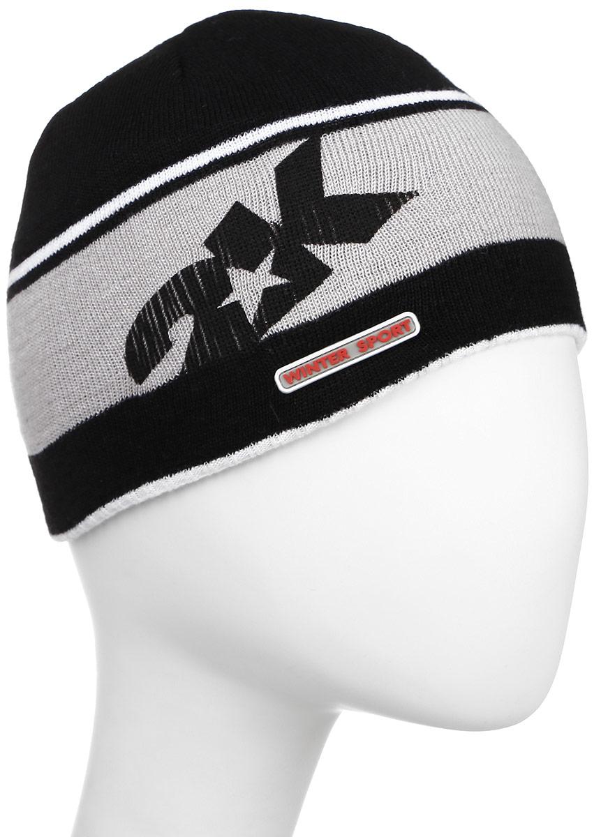 Шапка 2K Sport Nordic, цвет: черный, светло-серый, белый. 124024. Размер 58/60124024_black/silver/whiteСтильная вязаная шапка 2K Sport Nordic выполнена из высококачественного акрила.Шапка оформлена контрастными полосками, фирменным логотипом и декоративной нашивкой. Низ модели связан резинкой.Уважаемые клиенты!Размер, доступный для заказа, является обхватом головы.