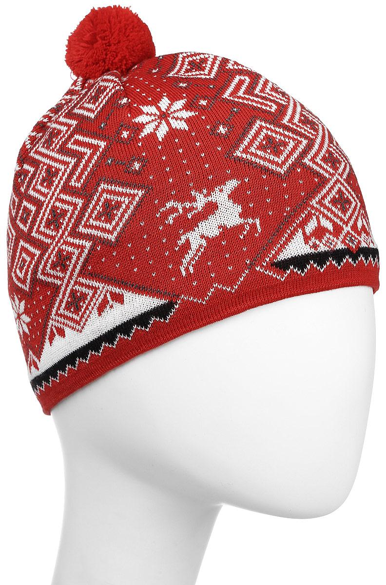 Шапка Kama Alpine Beanies, цвет: красный. A58_104. Размер 56/58A58_104Теплая шапка с маленьким помпоном. Для лучшего сохранения тепла с внутренней стороны повязка, выполненная из нитей Thermolite.