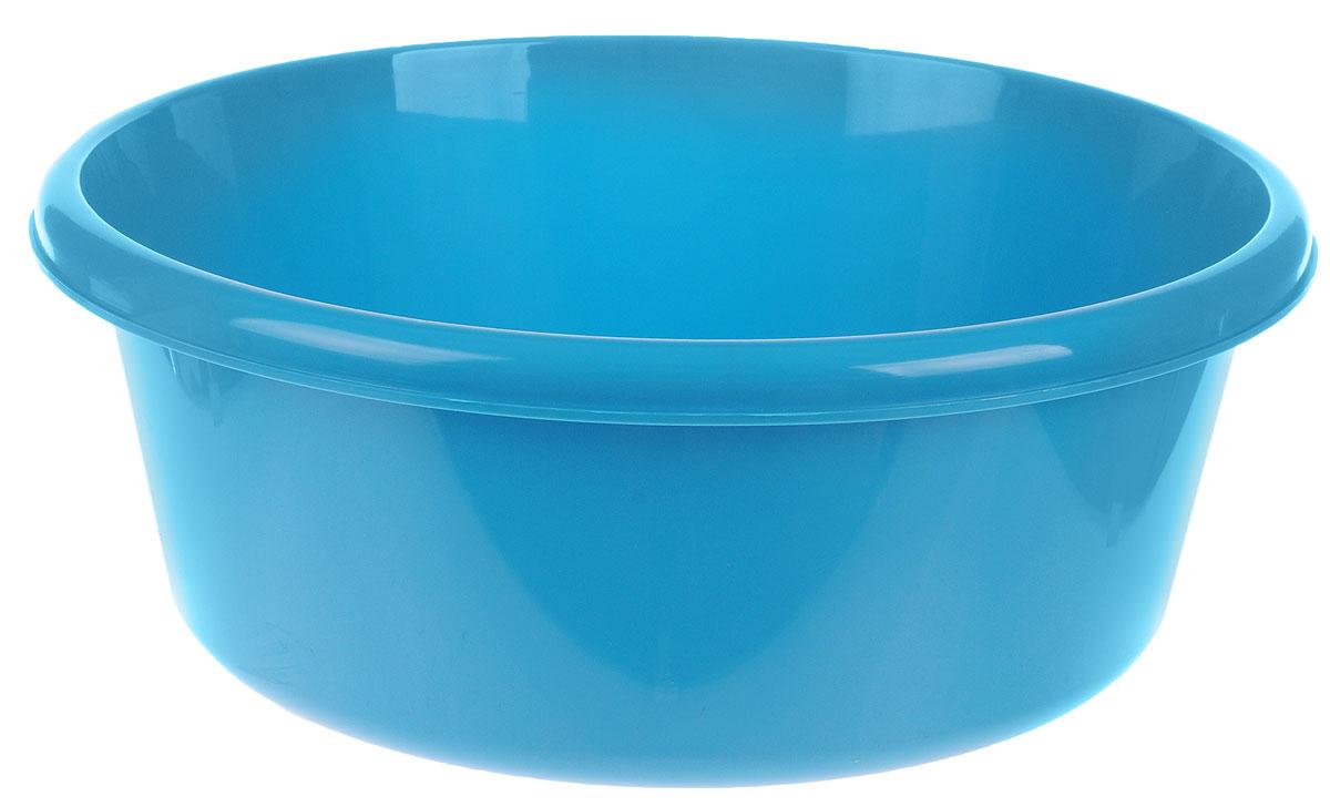 Таз Idea, круглый, цвет: бирюзовый, 8 лМ 2512Таз Idea выполнен из прочного пластика. Он предназначен для стирки и хранения разных вещей. Также в нем можно мыть фрукты. Такой таз пригодится в любом хозяйстве.Диаметр таза (по верхнему краю): 30 см. Высота стенки: 14 см.