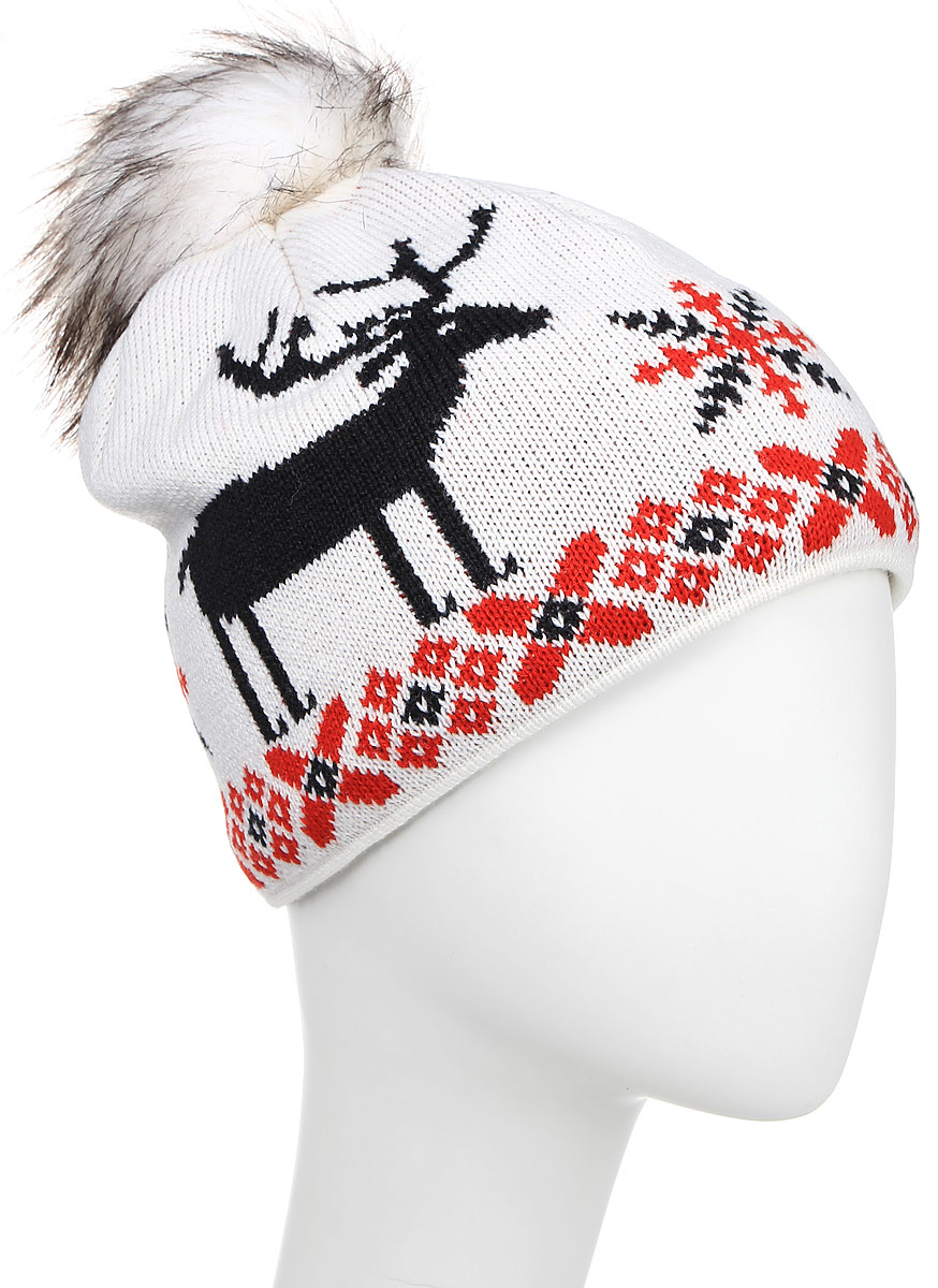 Шапка Kama Fashion Beanies, цвет: белый. A51_101. Размер универсальный шапка kama kama ka022cuwto26