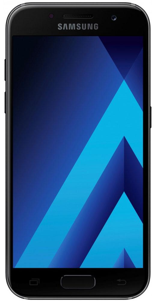 Samsung SM-A320F Galaxy A3 (2017), BlackSM-A320FZKDSERСовременный минималистичный корпус из 3D-стекла и металла, а также 4,7-дюймовый экран HD sAMOLED - все это отличительные черты Samsung Galaxy A3 (2017).Плавные линии корпуса, отсутствие выступов камеры, утонченная и элегантная отделка позволяют получить настоящее удовольствие от использования смартфона.Будьте законодателями трендов, а не просто следуйте им. Стильные цветовые решения идеально гармонируют с корпусом из стекла и металла, создавая динамичный и цельный образ. Четыре модных цвета на выбор превосходно дополнят ваш стиль.Запечатлите памятные моменты. Благодаря высокому разрешению основной камеры в 13 Mп фотографии всегда будут яркими и красочными.Вместе с Galaxy A3 (2017) почувствуйте себя профессиональным фотографом. Наличие широкого выбора фильтров позволяет подойти к процессу съемки более креативно. Теперь каждая фотография будет особенной.Благодаря высокому разрешению фронтальной камеры в 8 Mп фотографии всегда будут красочными и детализированными. Новая Smart-кнопка сделает процесс съемки еще более простым - теперь вы сами можете выбирать расположение кнопки затвора.Стандарт защиты от воды и пыли IP68 позволяет комфортно использовать смартфоны Galaxy A3 (2017) в любых условиях - будь то дождь или бассейн.Наслаждайтесь играми или просмотром видео еще дольше благодаря увеличенному объему аккумулятора.Разделяете работу и личную жизнь, удаляете старый контент, так как недостаточно памяти? Выбирайте то, что удобно вам: слот для 2-ой SIM-карты или карты памяти объемом до 256 ГБ.С функцией Always On Display вся актуальная информация всегда на экране. Просматривайте время, события в календаре и непрочитанные уведомления даже если смартфон находится в спящем режиме.Храните конфиденциальную информацию в защищенной папке. Благодаря безопасной среде KNOX вы можете быть уверены, что ваша личная информация не попадет в чужие руки.Простое подключение. Симметричный разъем кабеля USB type-C удобно использовать любой