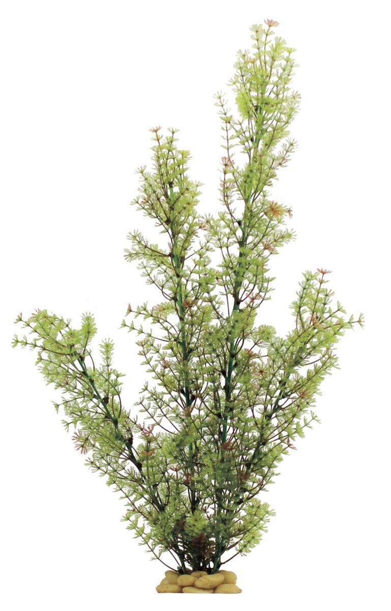 Растение для аквариума ArtUniq Роголистник желто-зеленый, высота 60 см растение для аквариума artuniq мох ситняг папоротник майяка лилеопсис элодея высота 7 10 см 6 шт