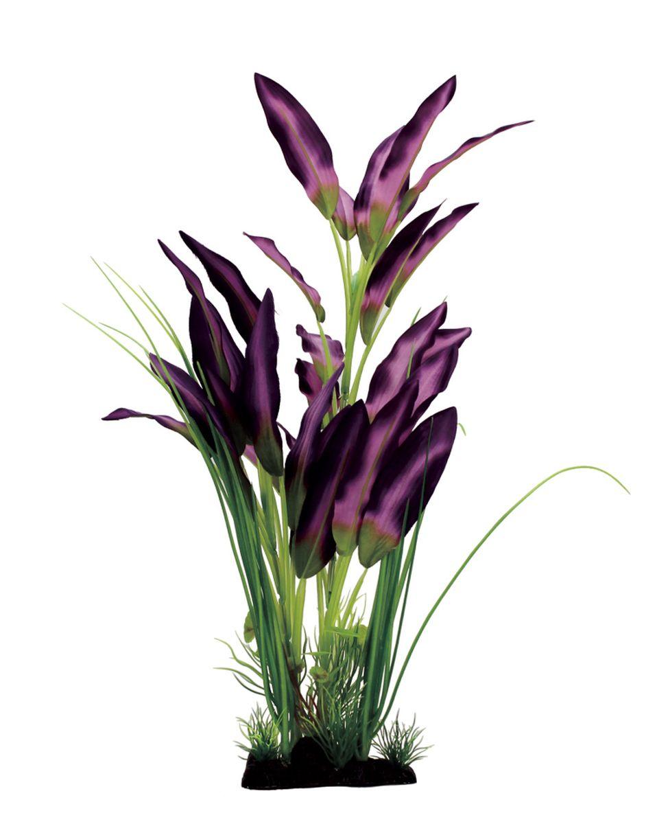 Растение для аквариума ArtUniq Эхинодорус фиолетовый, шелковое, высота 40 смART-1110420Растение для аквариума ArtUniq Эхинодорус фиолетовый, шелковое, высота 40 см