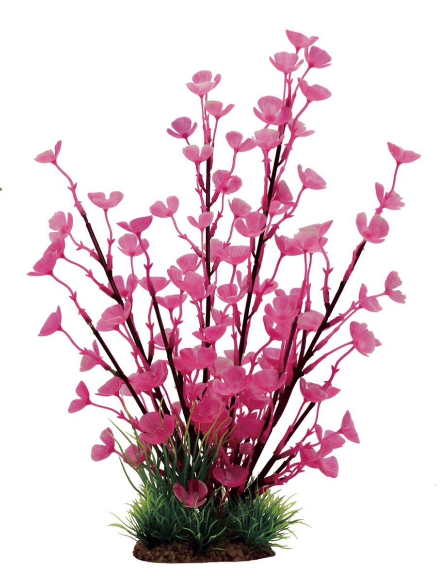 Растение для аквариума ArtUniq Марсилия розовая, высота 32 см композиция из растений для аквариума artuniq кариота на коряге 15 x 11 x 10 см