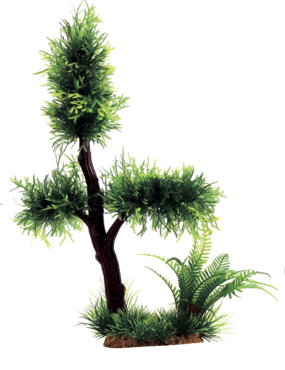 Композиция из растений для аквариума ArtUniq Мох на коряге, 25 x 15 x 33 смART-1140502Композиция из искусственных растений ArtUniq превосходно украсит и оживит аквариум.Растения - это важная часть любой композиции, они помогут вдохнуть жизнь в ландшафт любого аквариума или террариума. Композиция является точной копией природного растения.