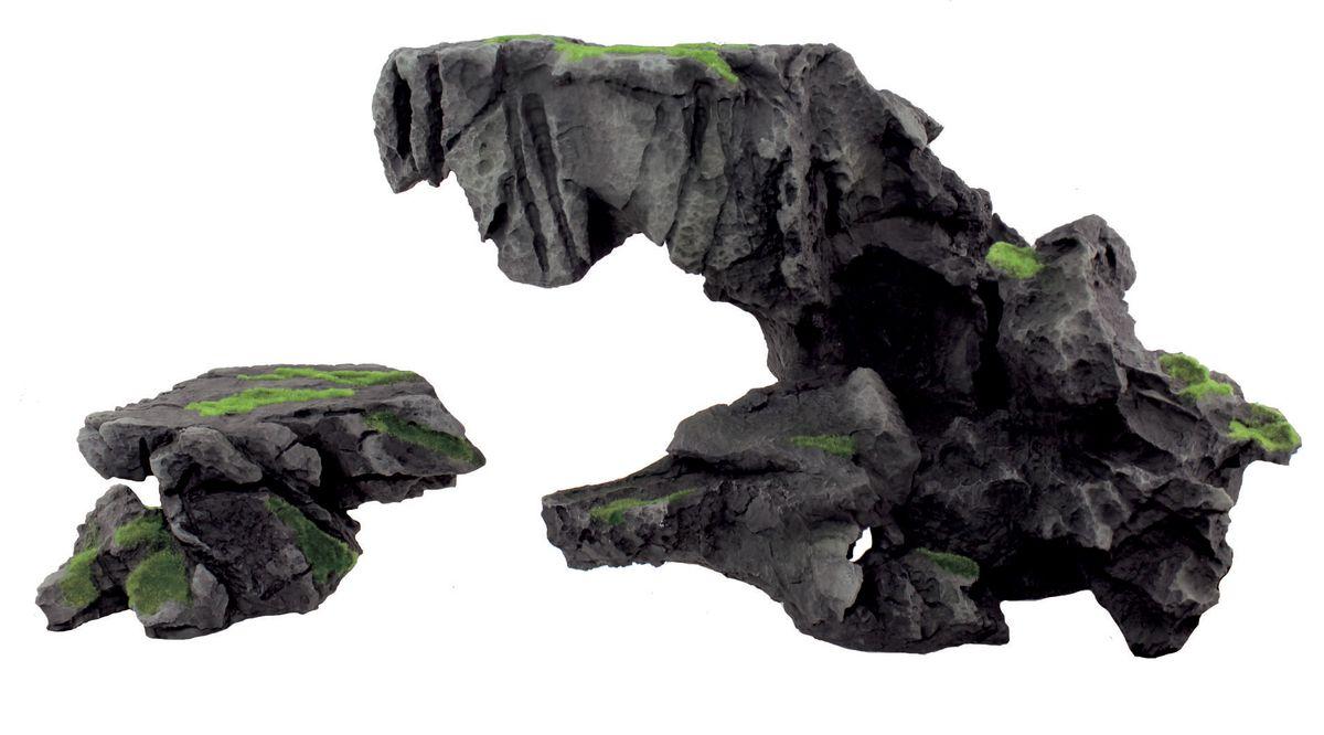 Декорация для аквариума ArtUniq Нависшая скала, 33,2 x 21,6 x 16,7 см декорация для аквариума artuniq пористый камень 20 5 x 10 5 x 18 8 см
