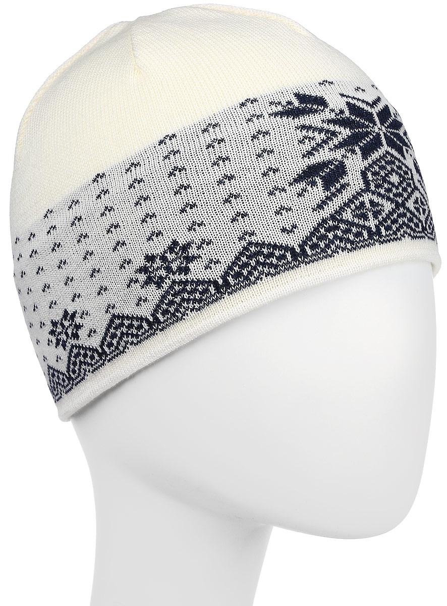 Шапка Kama Cross-Country Beanies, цвет: белый. A37_101. Размер универсальныйA37_101Теплая шапка в норвежском стиле из 100% шерсти меринос.