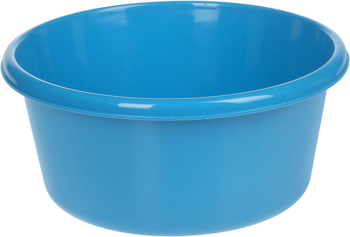 Таз Idea, круглый, цвет: бирюзовый, 6 лМ 2511Таз Idea выполнен из прочного пластика. Он предназначен для стирки и хранения разных вещей. Также в нем можно мыть фрукты. Такой таз пригодится в любом хозяйстве.Диаметр таза (по верхнему краю): 26,5 см. Высота стенки: 13 см.