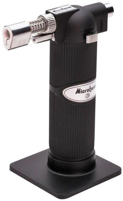 Горелка бутановая КВТ X-19066237Бутановая горелка КВТ X-190 рекомендована для монтажа термоусадочной трубки, а также наконечников и разъемов с термоусаживаемойизоляцией. Обладает пьезоэлектрической системой зажигания. Раздельные регуляторы подачи газа и воздуха позволяют варьировать пламягорелки от острого клиновидного до мягкого пламени с желтым языком.Особенности: Максимальная температура пламени: 1300°C. Емкость баллона: 19 мл. Регулируемая длина пламени: от 30 до 60 мм. Время горения: 120 мин. Переключатель на постоянный режим работы и кнопка защиты от детей. Надежная и безопасная конструкция. Более 20 лет на мировом рынке. Съемная настольная подставка. Мягкий, прорезиненный и приятный на ощупь кожух. Легкий вес и компактность. Топливо: высокоочищенный бутан для заправки зажигалок. Диаметр баллона: 38 мм.