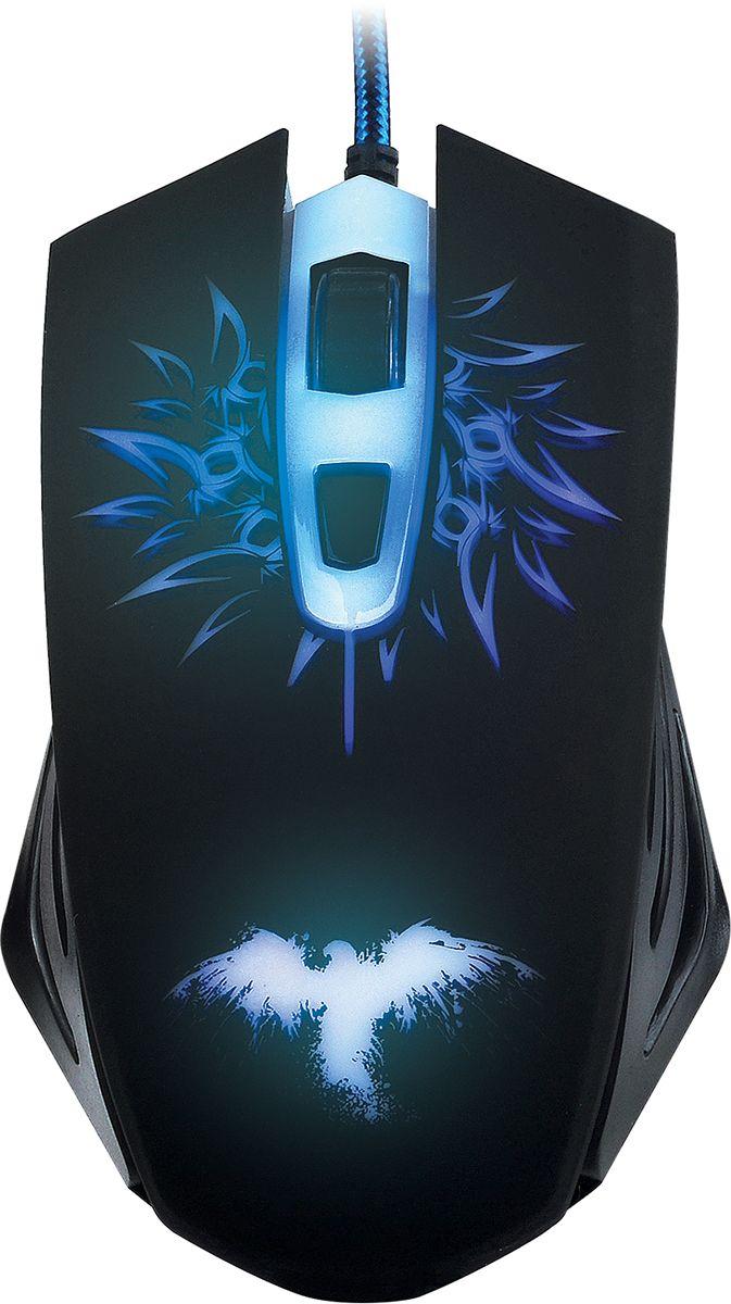 Qumo Dragon War Raven мышь игровая манипулятор qumo dragon war blackout 3200 dpi usb