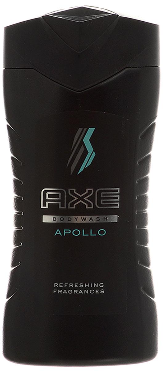 Axe Гель для душа Apollo 250 мл65421655Героический шлейф шалфея и настоящих фруктов. Стань героем в ее глазах с AXE Apollo!