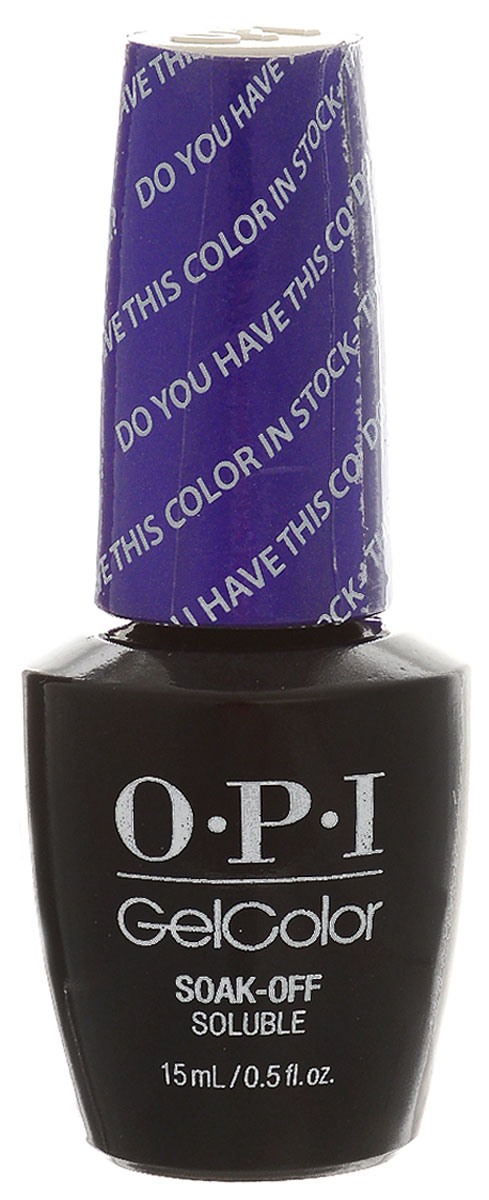 OPI Гель-лак GelColor Color in Stock-holm, 15 мл opi gelcolor гель лак i sea you wear opi gca73